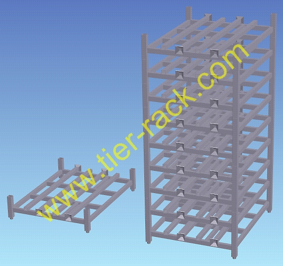 Stackable racks, Stackable rack