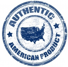 Authentic America Blue Circle