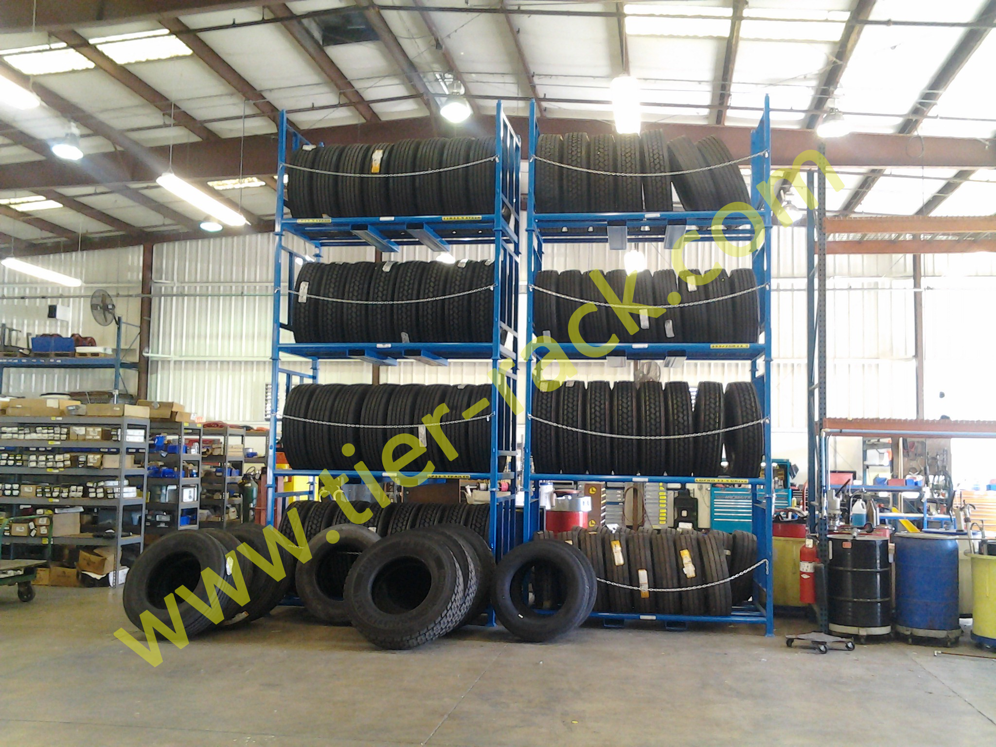 Truck Tire Racks Customer Picture