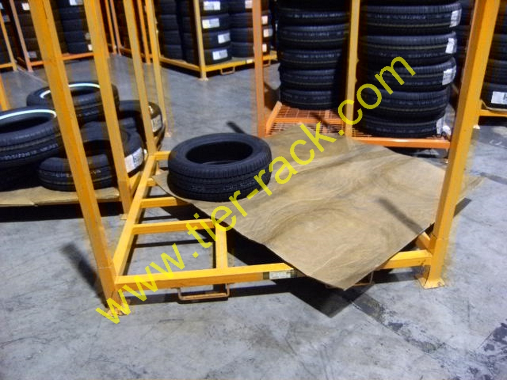 Tire Rack baskets For Heavy Duty Tire Storage