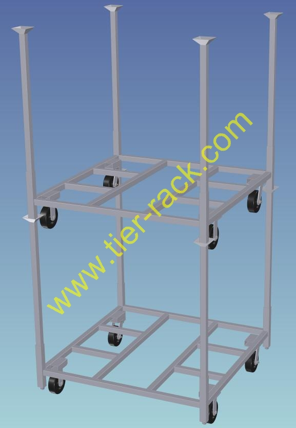 Stackable carts