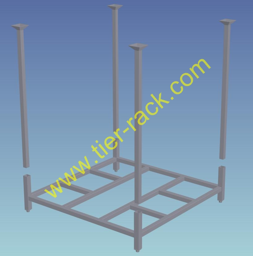 Stacking cart