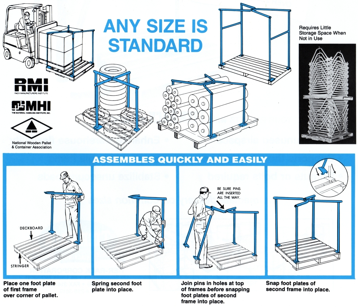Tier-Rack Frame Instructions
