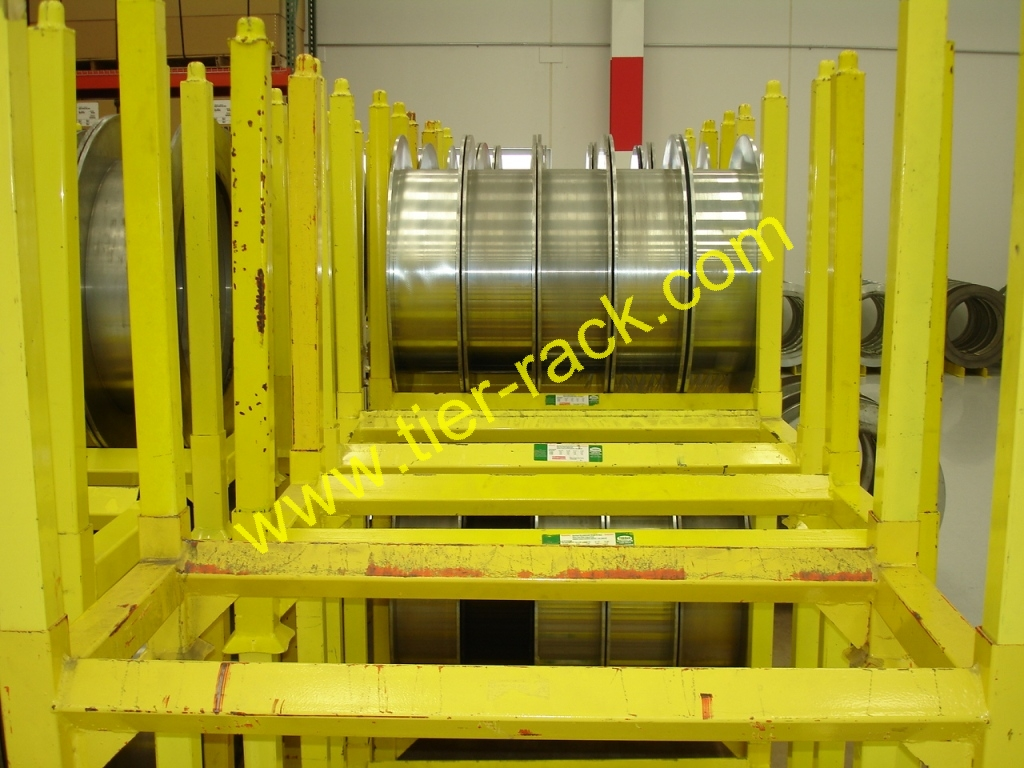 Steel Coil Stands : Coil racks